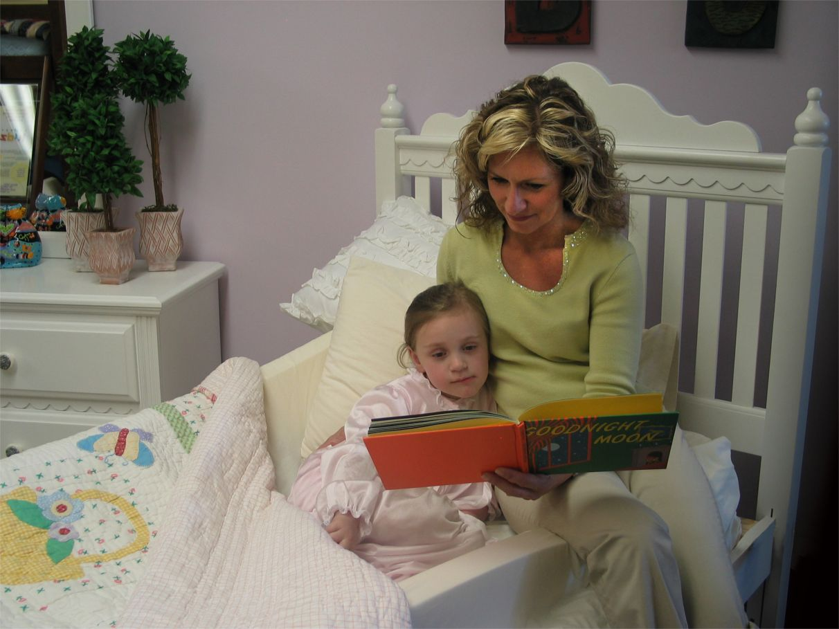 """These parent-friendly bumpers make saying """"Goodnight"""" more comfortable."""